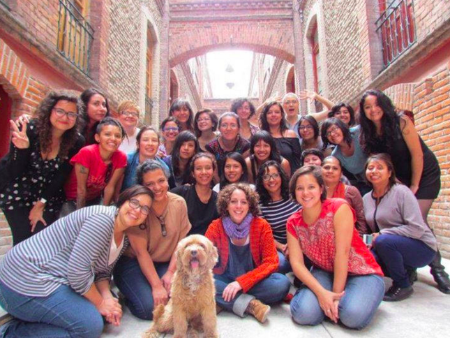 Photo of participants from the Voices of Women project in Mexico.
