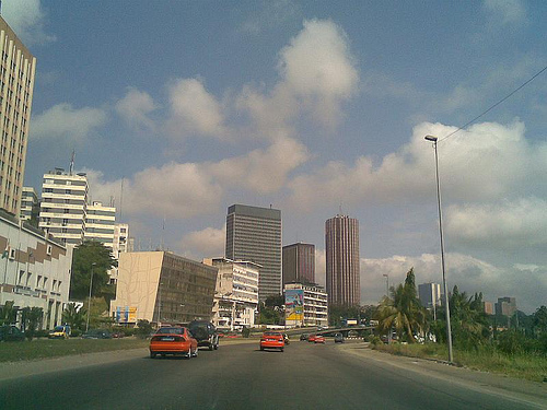 Skylines of Abidjan