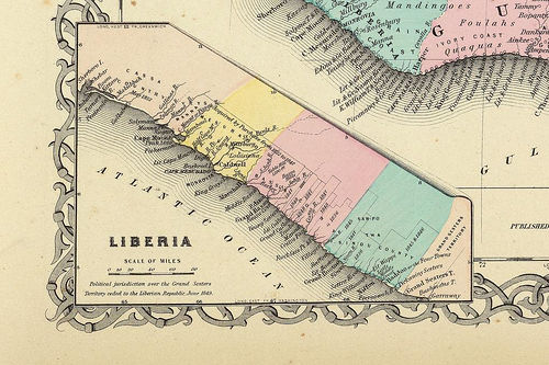 Colton 1856 - Liberian Republic. Image by Edu-Tourist, under CC. http://www.flickr.com/photos/mdorn/2155874/