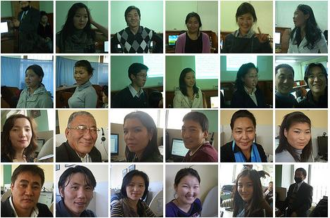 Participants of Nomad green Workshop in Ulaanbaatar