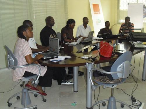 2nd Abidjan Blog Camp. Image by Nadine Kouamouo