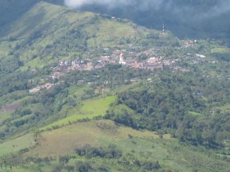 Landscape of Ituango