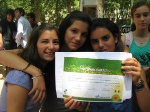 TIV 1er premio blogs escolares por clase