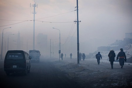 "Mongolian capital ""Ulaanbaatar"" is now known as ""Utaanbaatar"", which means ""city of dense smoke"""