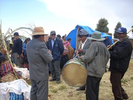 Todas las festividades de los Santos de Chaguaya. Imagen de Flickr  de Edgar.