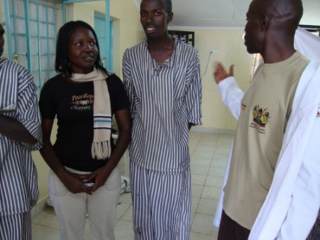 Prison Outreach. Image by Collins Dennis Oduduor