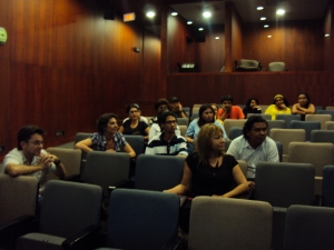 # HiperBarrio in the  EPM Library Auditorium in Medellin