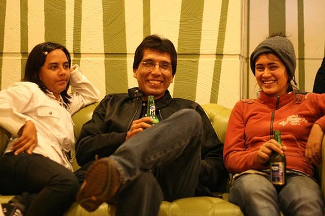 Catalina Restrepo, Juan Arrelano and Yesenia Corrales. Image by Alexey Sidorenko. CC BY/NC