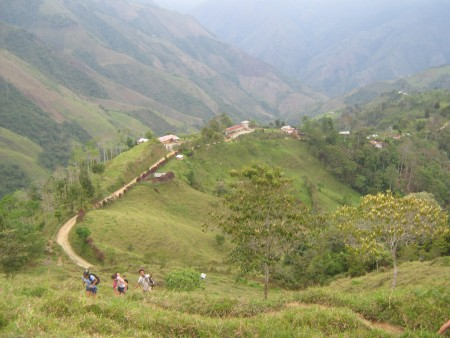 Palo Blanco village in Ituango. Image courtesy Andria Jaramillo.