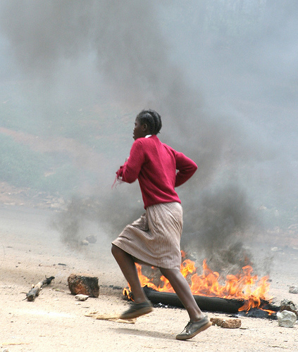 Violence in Kenya. Image by Flickr user ActionPixs (Maruko). CC BY-NC-SA