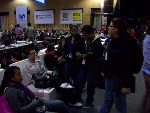Hiperbarrio team in Campus Party 2010