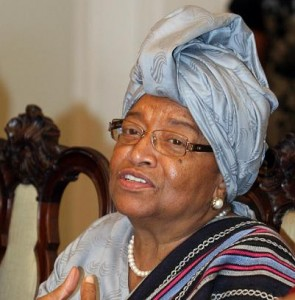 Ellen Johnson Sirleaf, the President of Liberia. Image by Flickr user Bahia. CC BY