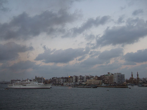 Port Said. Image by Flickr user dolanh. CC BY-NC-SA
