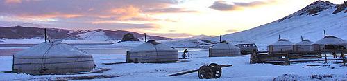 Inverno in Mongolia