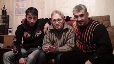 Pavel with friends from Tajikistan
