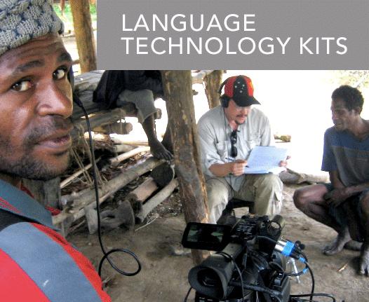 Kit per le registrazioni, Living Tongues Institute
