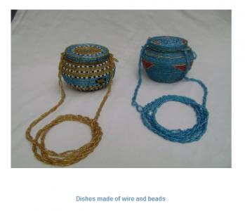 Jóias produzidas pelo Grupo de Mulheres Poderosas. Imagem do website.
