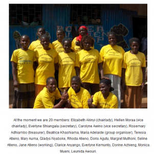 O Grupo das Mulheres Poderosas. Imagem do website.