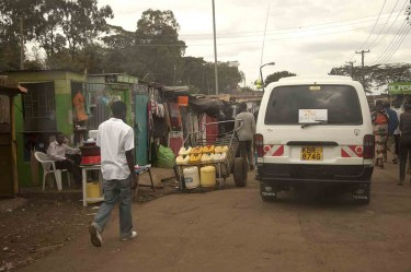 L'ingresso di Kibera