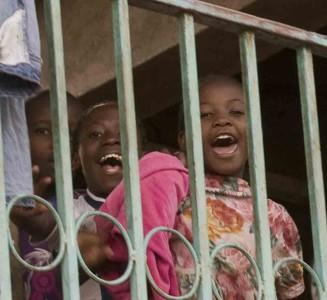 Bambini a Kibera