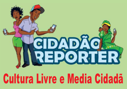 Citize Reporter: Free Culture and Citizen Media. Poster by @Verdade newspaper.