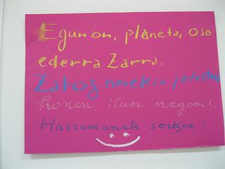 Le poème en basque