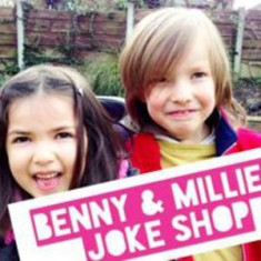 Bennie and Millie Joke Shop
