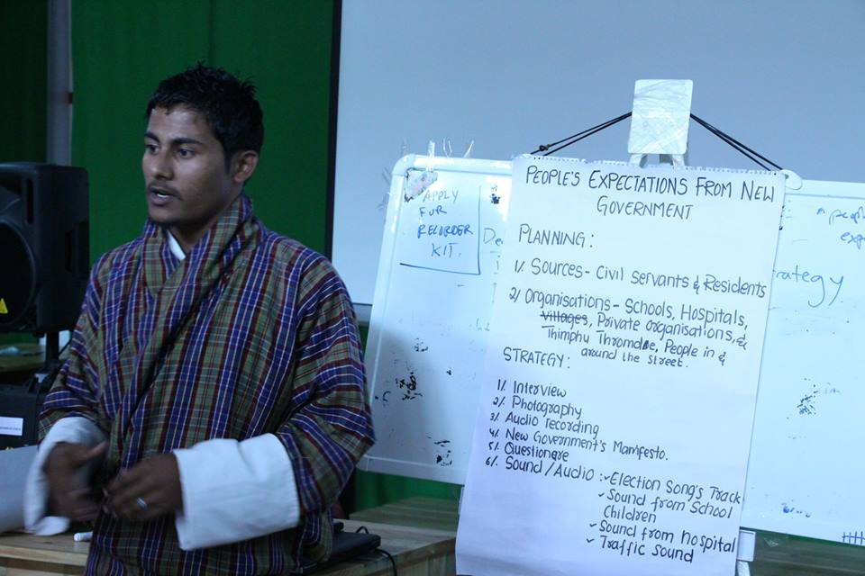 "Brainstorming ideas: Bagawath shares his idea about ""the peoples' expectations from the new government"""
