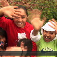 Screenshot of young people who are participating in videocartas from Oaxaca