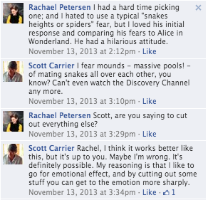 facebook conversation rachael peterson scott carrier