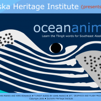 Sealaska Institute's Flash-based learning tool for learning ocean animals in Tlingit