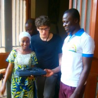 The Mapping for Niger team travels to Burkina Faso for an OpenStreetMap meeting and receives a computer - more on the blog.