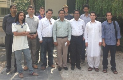 Some workshop participants in Islamabad