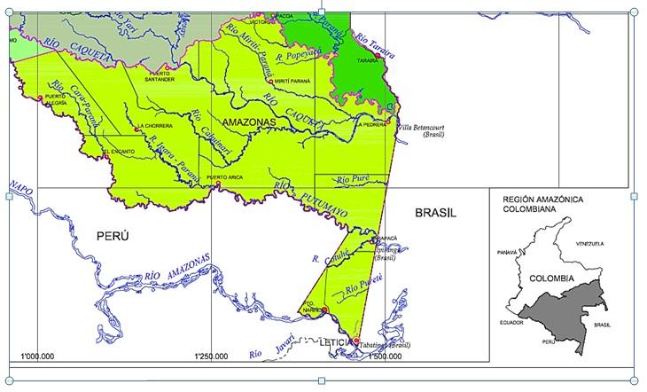 Corregimiento La chorrera, Amazonas