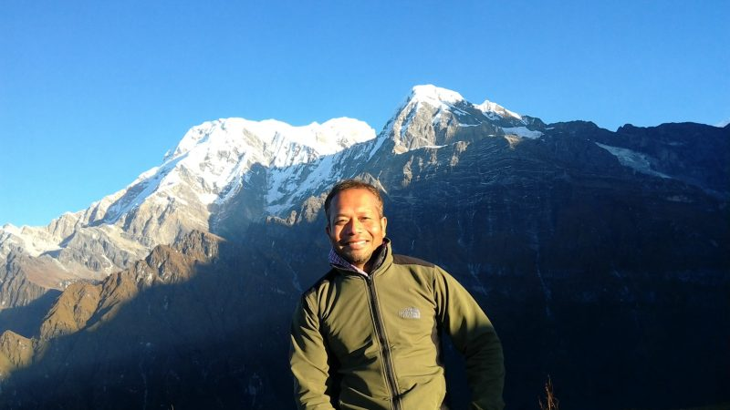 Meet Sanjib Chaudhary, the host of the @AsiaLangsOnline Twitter account for August 13-19
