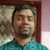 Portrait of Ashwani Murmu, Santali language activist