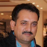 Portrait of Muhammad Zaman Sagar, Gawri language activist.