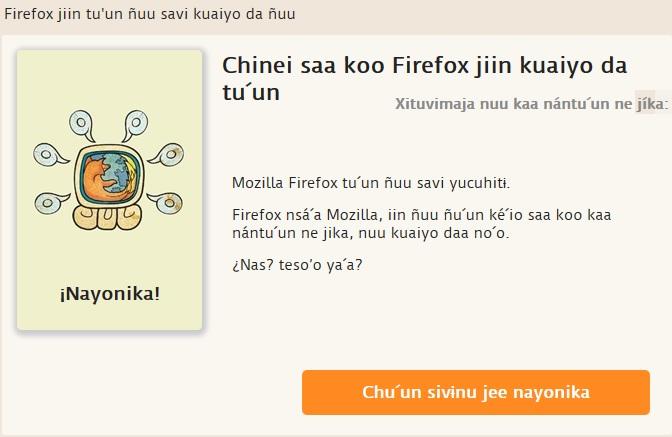 Firefox-Mixteco