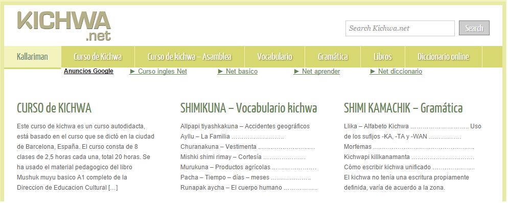 www.kichwa.net