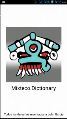 App Mixteco del Sur de Puebla