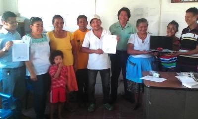 """Entrega de equipos a las comunidades de trabajo del Proyecto """"Revitalización del Potón y Pisbi en El Salvador"""