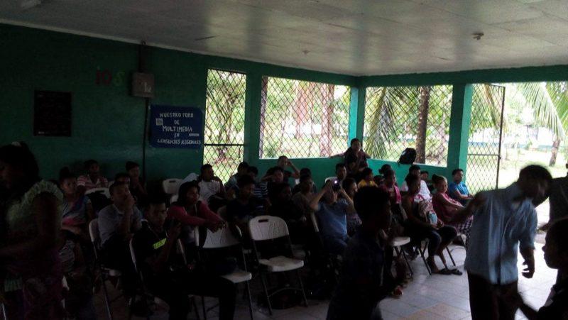 Audiencia en uno de los foros de presentación de resultados de la escuela de liderazgo.