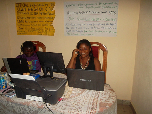 Dynamic youth group leaders who will be part of the training of Rising Global Voices online 2013