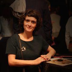 A small portrait of Marie-Laure Le Guen